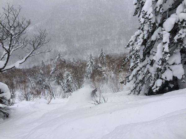 腰痛スノーボード