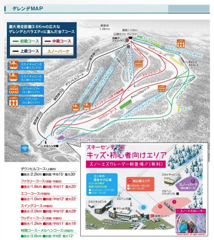 Sapporo kokusai course
