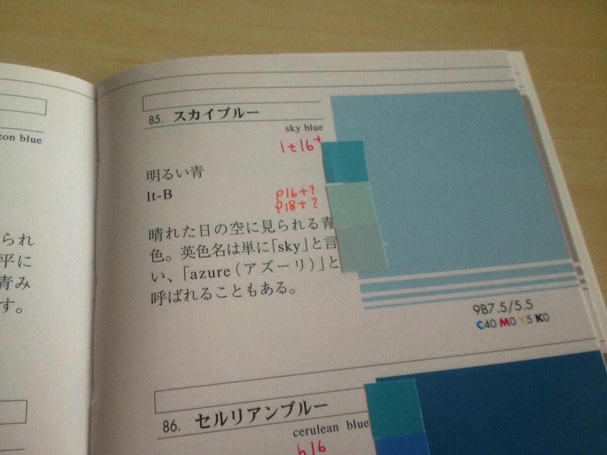 色彩検定1級2次対策「慣用色名・コレじゃないBOOK」の作り方
