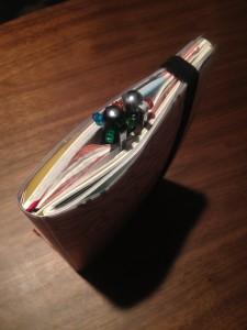 ジブン手帳の厚さを確認